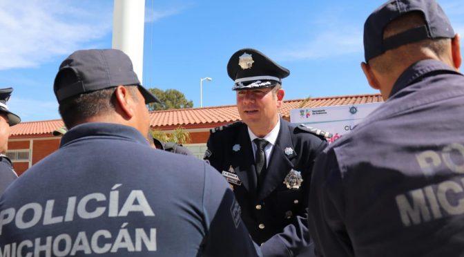 Fortalece IEESSPP la certificación policial de los municipios