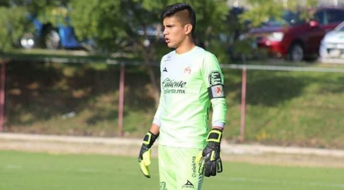 Apatzinguense al mundial de fútbol Sub 17, el portero Gerardo Magaña Lira