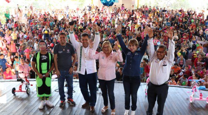 Festejan el Día de Reyes en Apatzingán