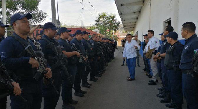 Relevo en la Dirección de Seguridad Pública Municipal de Apatzingán