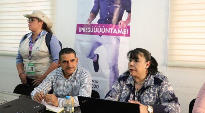 Invitan a la población a participar en el censo del Inegi