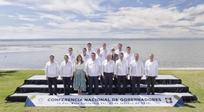 Acuerda Conago agenda regional por la seguridad en el país
