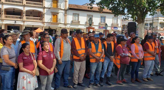 "Inicia campaña ""Por un Apatzingán Limpio"""