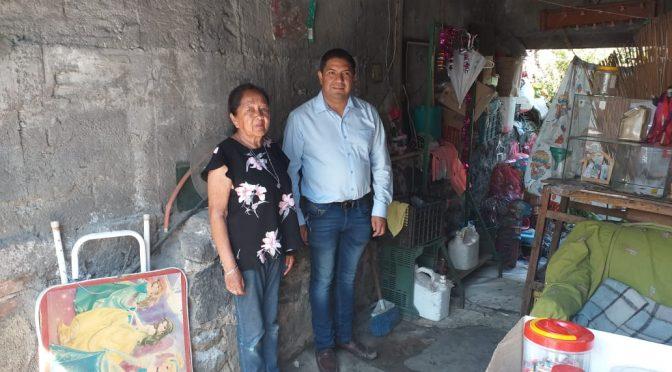 Paco Cedillo, el diputado que atiende de forma inmediata las necesidades de los uruapanses